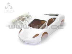 Carrocería Kyosho MiniZ Ferrari 430 Blanca p/pinta