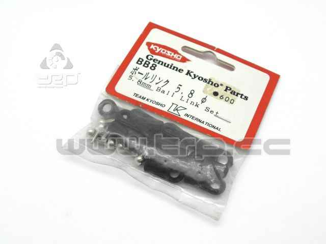 Kyosho Set de rotulas y bola 5.8mm
