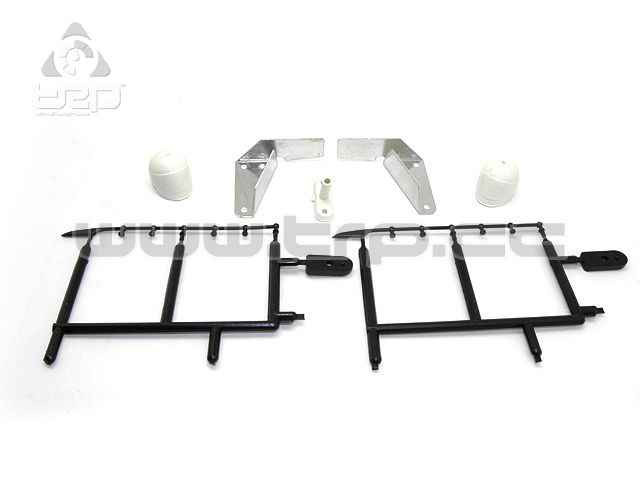 Kyosho Hurricane Aluminum stabilizers and Various Accessories He