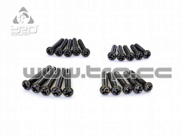 Kyosho Star Button Screws (M3x14) (M3x16) (M3x18) (M3x20)