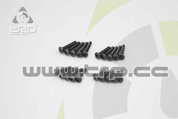 Kyosho Screws (M4x15) (M4x18) (M4x20) (M4x22) Star