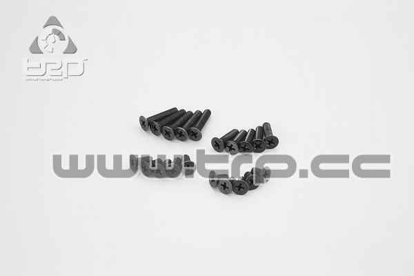 Kyosho Tapered Star Screws (M4x8) (M4x10) (M4x15) (M4x20)