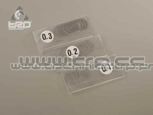Kyosho Arandelas de precisión (11x14)x0.1/0.2/0.3