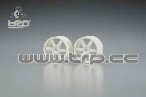 Kyosho Super Ten 6 Spoke Narrow Wheels HEX 14 mm
