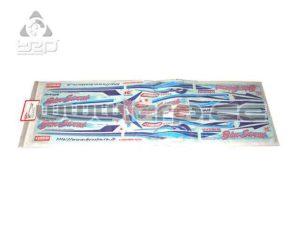 Adhesivos Kyosho Blue Streack