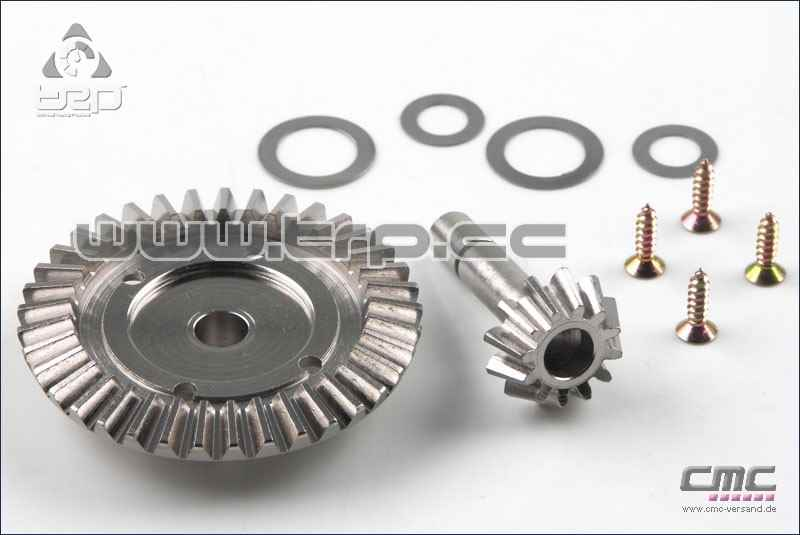 Kyosho FW05 Pinion and Gear Steel 12-37