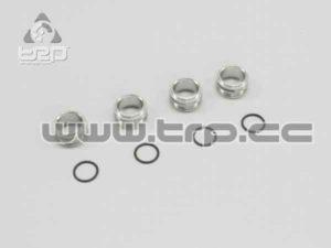 Kyosho Tuercas de ajuste para amortiguador (P.Ten/TR15/V-one)
