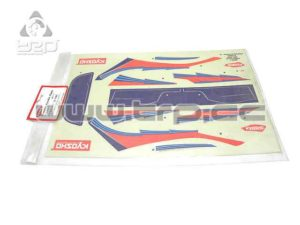 Adhesivos Kyosho Pure Ten Ford Focus WRC 2002
