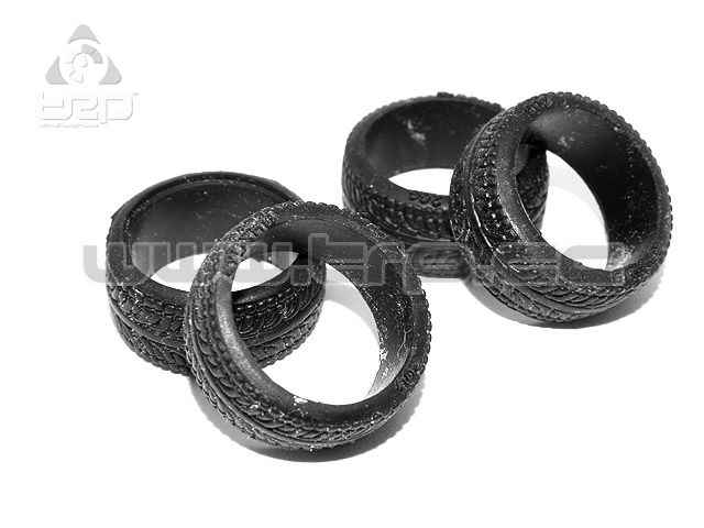 Kyosho MiniZ Radial Tires Semi-Wide 20 Degrees