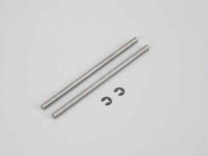 Kyosho V-One-RR Eje Susp. delant inferior (Titanio 64)(75.5mm)