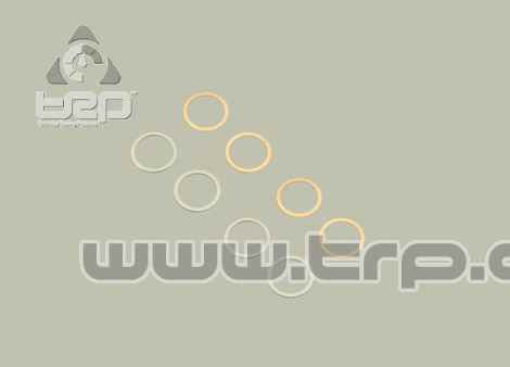 96646 12x15mm Shim Set (0.1/0.2/4Pc)(Kyosho)