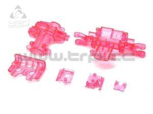 Kyosho MiniZ Monster Caja de Servo Skeleton Rosa