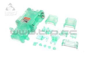 Kyosho MiniZ MR015 Chasis Skeleton verde transparente