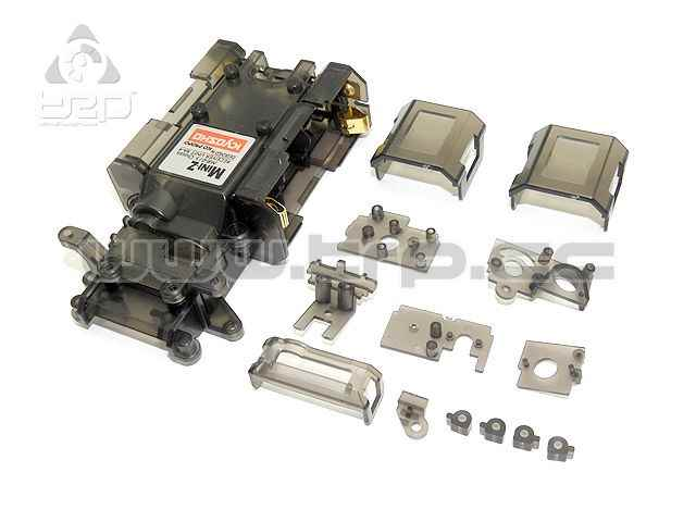 Kyosho MiniZ MR015 Chasis Transparente contact oro