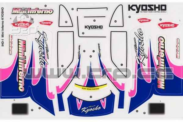 Kyosho Mini Inferno Decal Sheet