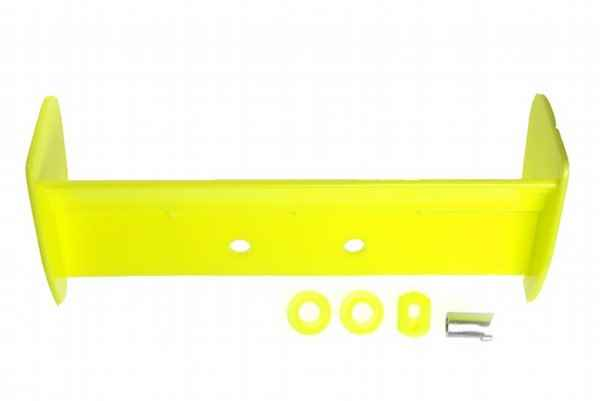 Kyosho Mini Inferno Wing & Dummy Muffler Set(Yellow)