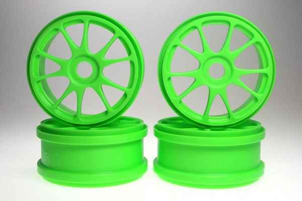 Kyosho Inferno MP7 Green Rims 4u