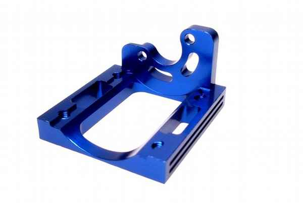Kyosho Mini Inferno Aluminum Motor Mount(Mini Inferno/Blue/1)