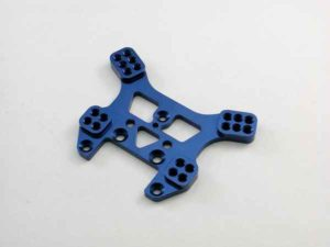 Kyosho Mini Inferno Soporte Amortiguador Trasero Aluminio Azul