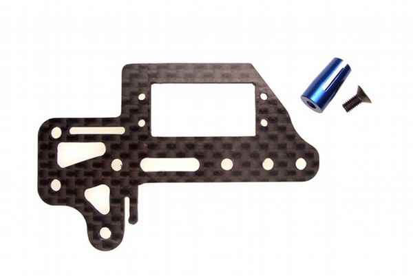 Kyosho Mini Inferno Carbon Upper Plate Set