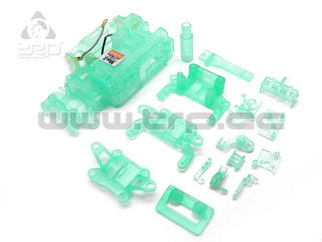 Kyosho MiniZ AWD Skeleton chassis clear green