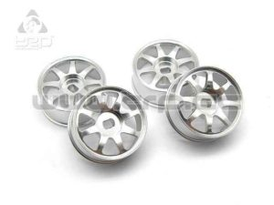 Kyosho MiniZ AWD Llantas Aluminio 8 Radios Estrechas (4u)