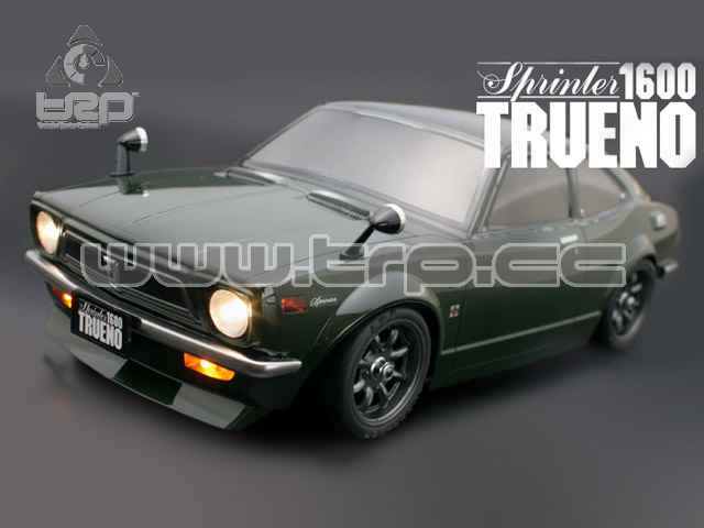 Lexan Body M-Type 1:10 ToyotaTE27 Trueno (160mm/210mm)