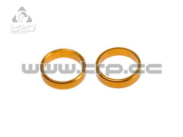 Team Durango DEX210 WHEEL DISTANCE BUSHING ALUMINIUM 6x5x1.5mm (