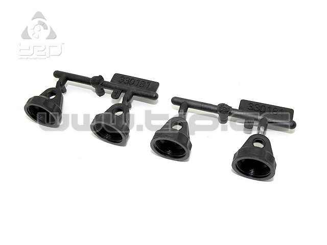Team Durango tapones BIG BORE para amortiguador (4pcs) DEX210