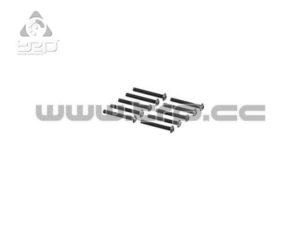 Team Durango Tornilleria Allen con cabeza de botón, de M3x22mm (