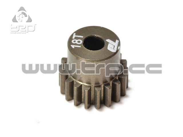 Team Durango 18T 48DP PINION - ALUMINIUM
