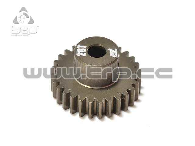 Team Durango 28T 48DP PINION - ALUMINIUM