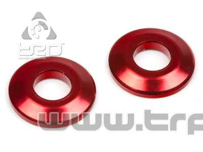 Team Durango Aluminium Wing Button(Red)