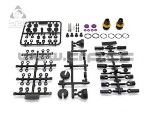 Team Durango DETC410 Set de amortiguadores (1 par)