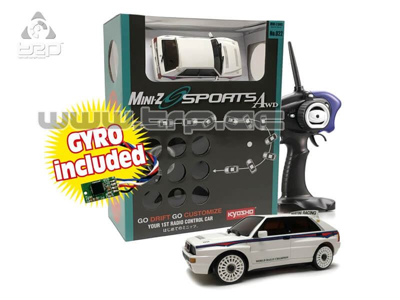 Kyosho MiniZ AWD Ready Set Drift Pack + Giro Lancia Delta