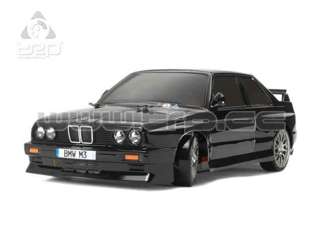 Tamiya TT01D Chasis Type E BMW M3 SPORT EVO con luces