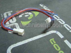 Cable de silicona de 20G con conector HPI radio control