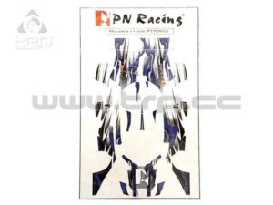 Máscara decorativa para MiniZ McLaren F1 Dec-2