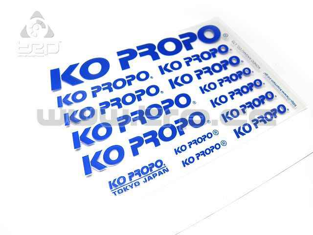 KO PROPO Adhesive Stamp (Pre-Cutted) Blue Colour