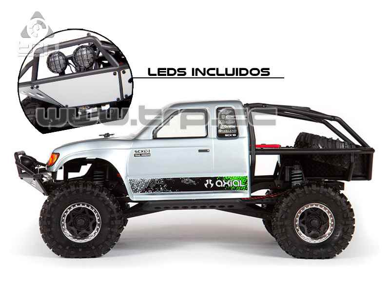 Axial SCX10 - 1/10th 4x4 RTR mit Honcho Body