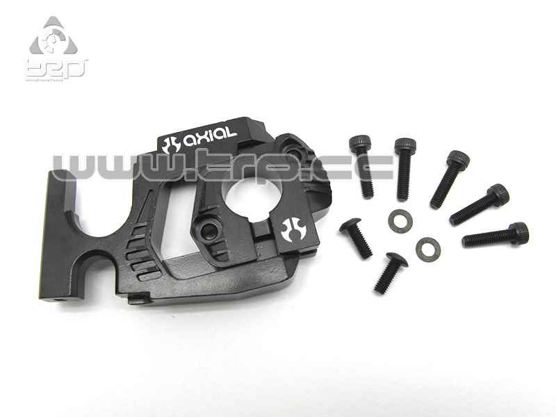 Axial Racing - EXO Adjustable Motor Mount System (Black)