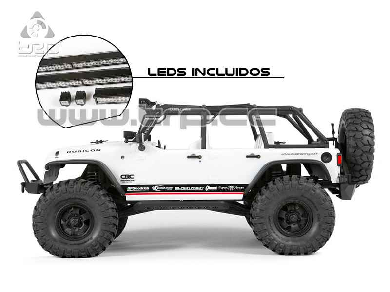 Axial SCX10 Jeep Wrangler Unlimited C/R edition RTR