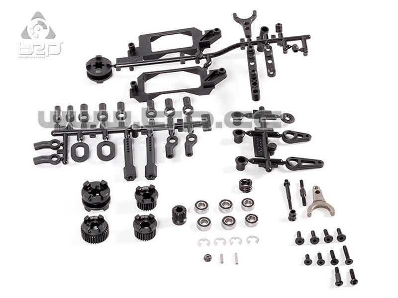 Axial Racing 2-Speed Hi/Lo Transmission Components