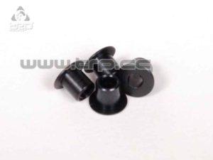 Axial Racing Casquillos separadores labiados de 3x4 5x5.5