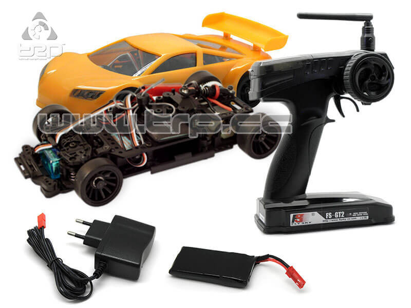 1/28 2wd Jomurema indoor Racer Ready Set (Orange)