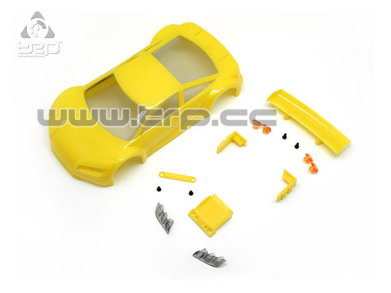 Jomurema Body SET JR GT01 Yellow for paint