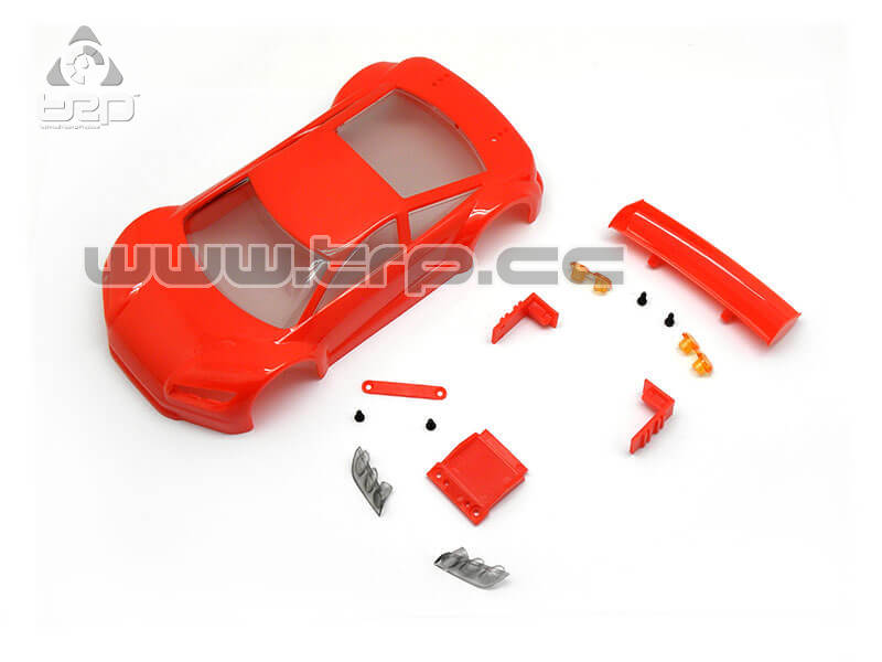 Jomurema Body SET JR GT01 Red for paint