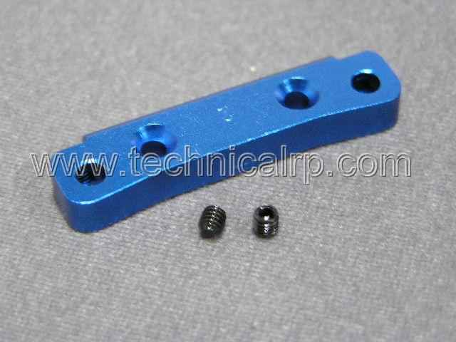 Alu. 2 Degree Rear Arm Pin Mount for Mini Inferno