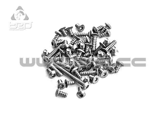 Titanium Screw Set For AMZ (52 pcs)(RC Atomic)