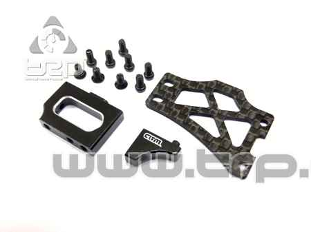Atomic Support servo Alu/Carbonne pour AMZ 4wd